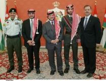 جلالة-الملك-عبدالله-الثاني-يتوسط-الأمراء-فيصل-وهاشم-وعلي-وحمزة
