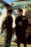 جلالة-الملك-الحسين-بن-طلال-وسمو-الأمير-عبدالله-خلال-تمرين-عسكري