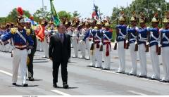 الملك-عبدالله-الثاني-يستعرض-حرس-الشرف-أثناء-استقباله-في-البرازيل