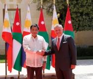 الملك-عبدالله-الثاني-يستقبل-الرئيس-الفلبيني-رودريغو-دوتيرتي-في-قصر-الحسينية