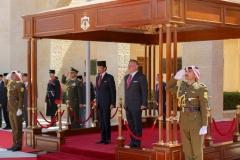 الملك-عبدالله-الثاني-يستقبل-سلطان-بروناي-حسن-بلقية