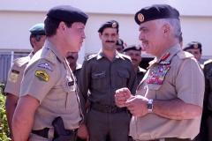 جلالة الملك عبدالله الثاني والقوات المسلحة الأردنية– الجيش العربي.