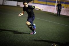 سمو-الأمير-الحسين-بن-عبدالله-الثاني،-ولي-العهد،-يمارس-رياضة-كرة-قدم-2013