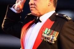 لباس السهرة العسكري